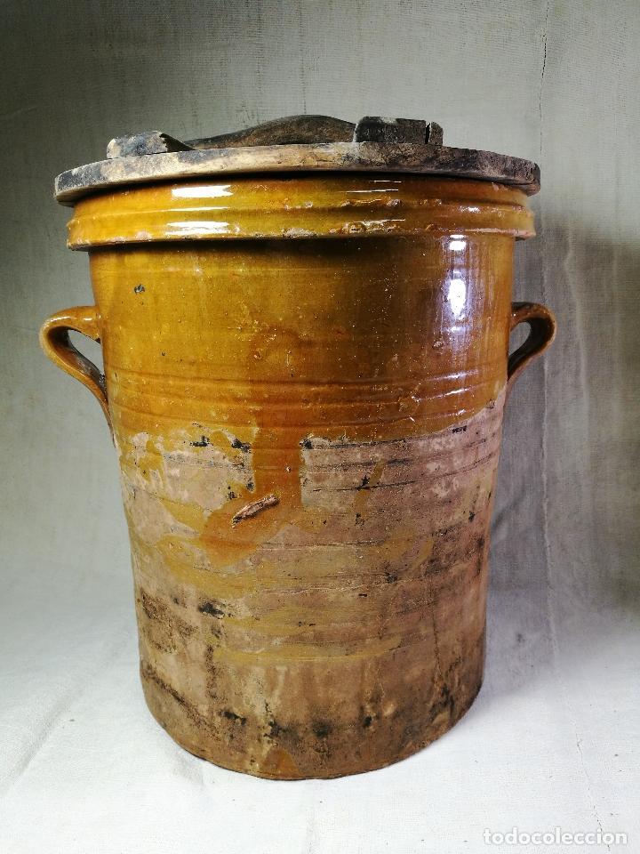 Antigüedades: ALFARERIA CATALANA POPULAR----QUESERA BAILÉN --JAEN ..MEDIADOS SIGLO -XX-- - Foto 37 - 133229618