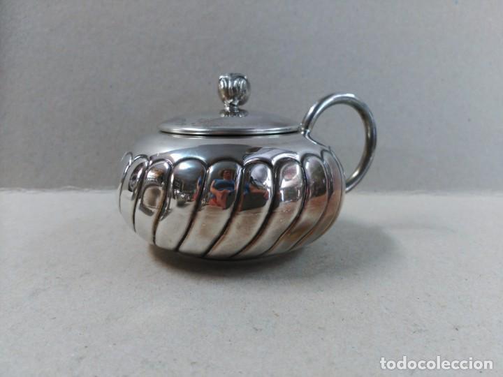 Antigüedades: JUEGO DE CAFE / TE EN ALPACA METAL PLATEADO - Foto 19 - 133241958