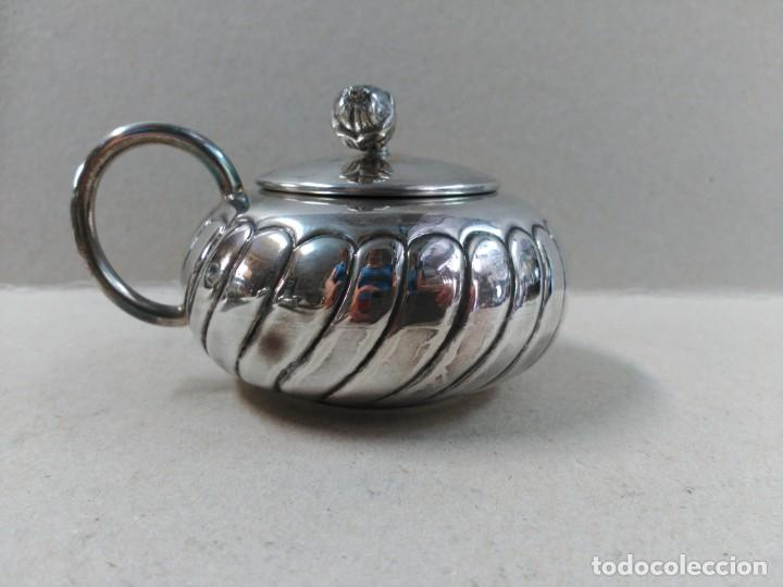 Antigüedades: JUEGO DE CAFE / TE EN ALPACA METAL PLATEADO - Foto 22 - 133241958