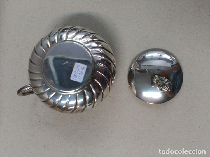 Antigüedades: JUEGO DE CAFE / TE EN ALPACA METAL PLATEADO - Foto 25 - 133241958