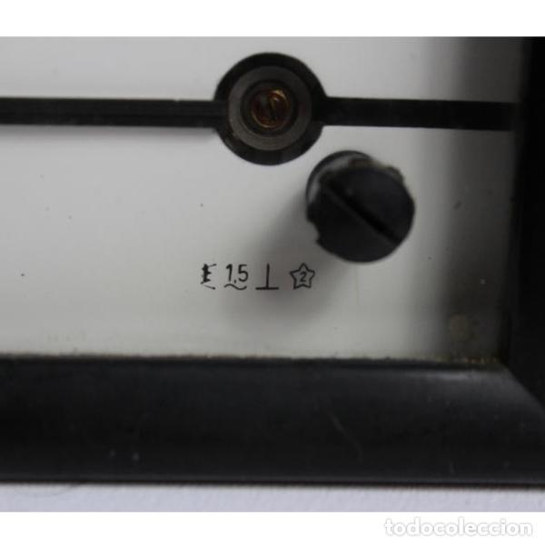Antigüedades: Antiguo voltímetro - Foto 2 - 133255114