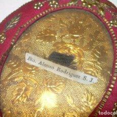 Antigüedades: ANTIGUO Y RARO RELICARIO DE TELA....SIGLO XIX...BUEN ESTADO DE CONSERVACION.. Lote 133300694