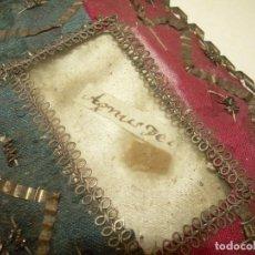 Antigüedades: ANTIGUO Y RARO RELICARIO DE TELA....SIGLO XIX...BUEN ESTADO DE CONSERVACION.. Lote 133300818
