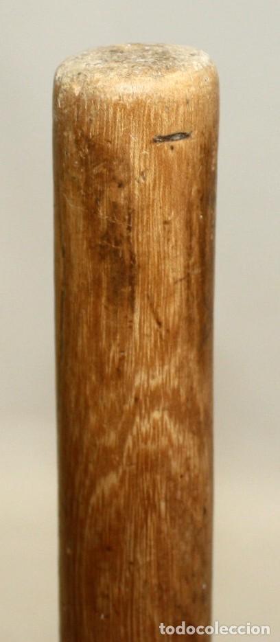 Antigüedades: LOTE DE 3 HORCAS ANTIGUAS EN MADERA - Foto 12 - 133310466