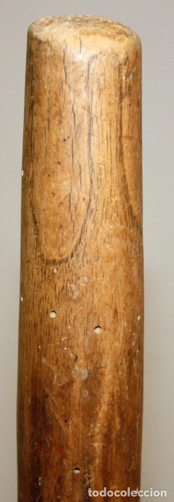 Antigüedades: LOTE DE 3 HORCAS ANTIGUAS EN MADERA - Foto 3 - 133310490