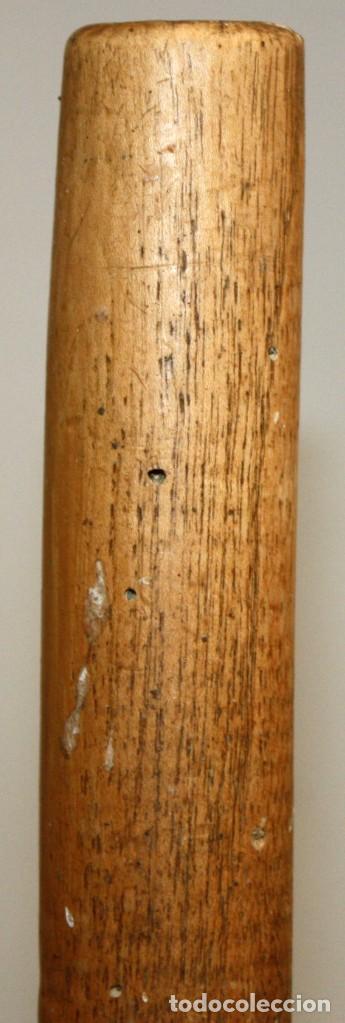 Antigüedades: LOTE DE 3 HORCAS ANTIGUAS EN MADERA - Foto 7 - 133310490