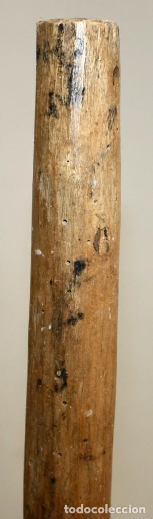 Antigüedades: LOTE DE 3 HORCAS ANTIGUAS EN MADERA - Foto 10 - 133310490