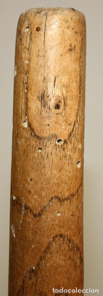 Antigüedades: LOTE DE 2 HORCAS ANTIGUAS EN MADERA - Foto 2 - 133310582