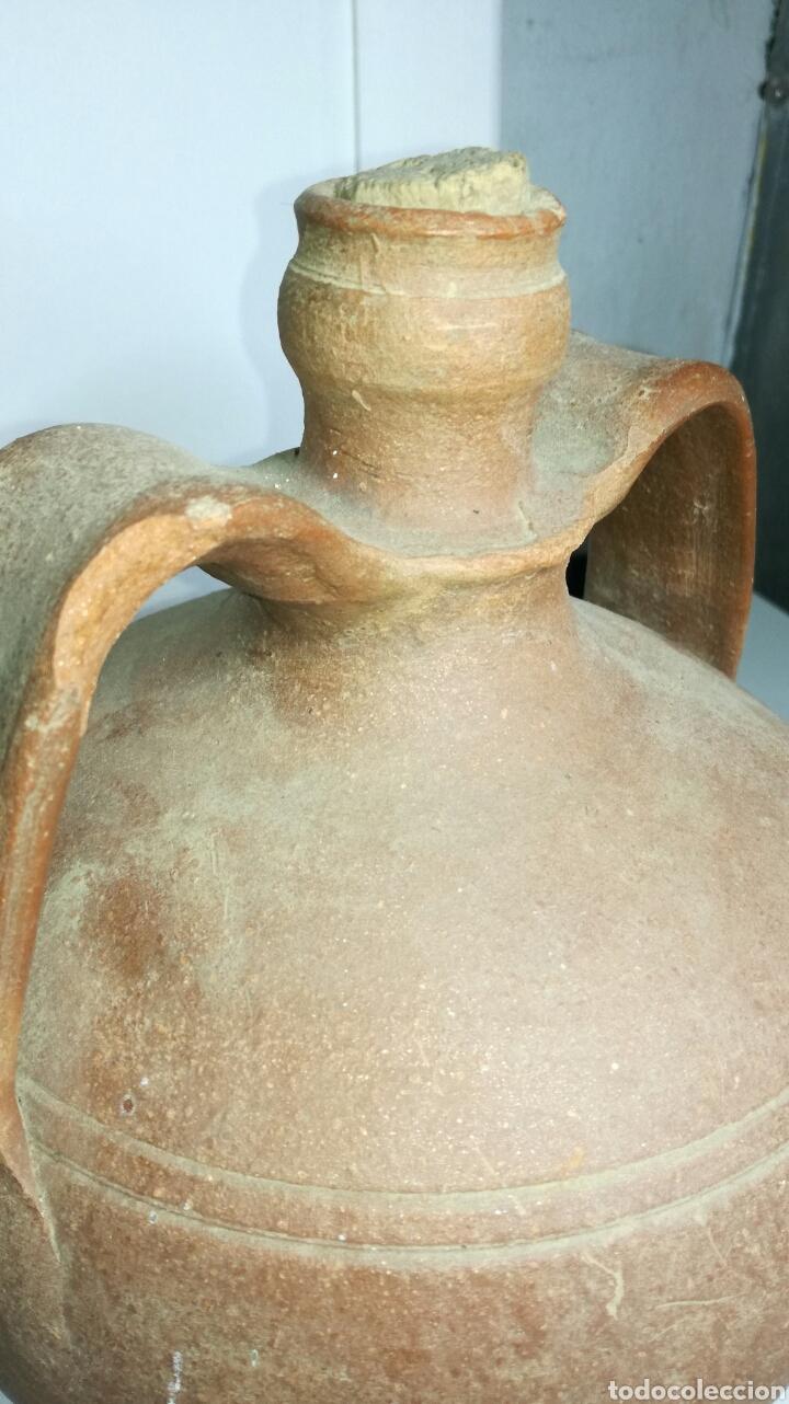Antigüedades: Botija de segador donde llevaban el agua. J M - Foto 3 - 133320145