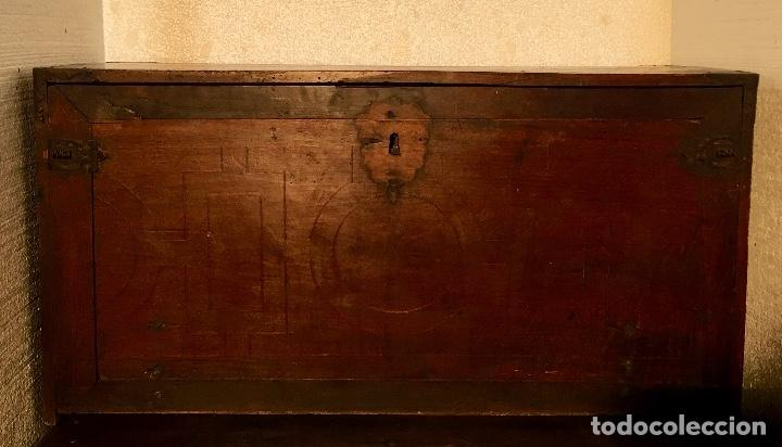 Antigüedades: BARGUEÑO SIGLO XVII - Foto 2 - 133328910