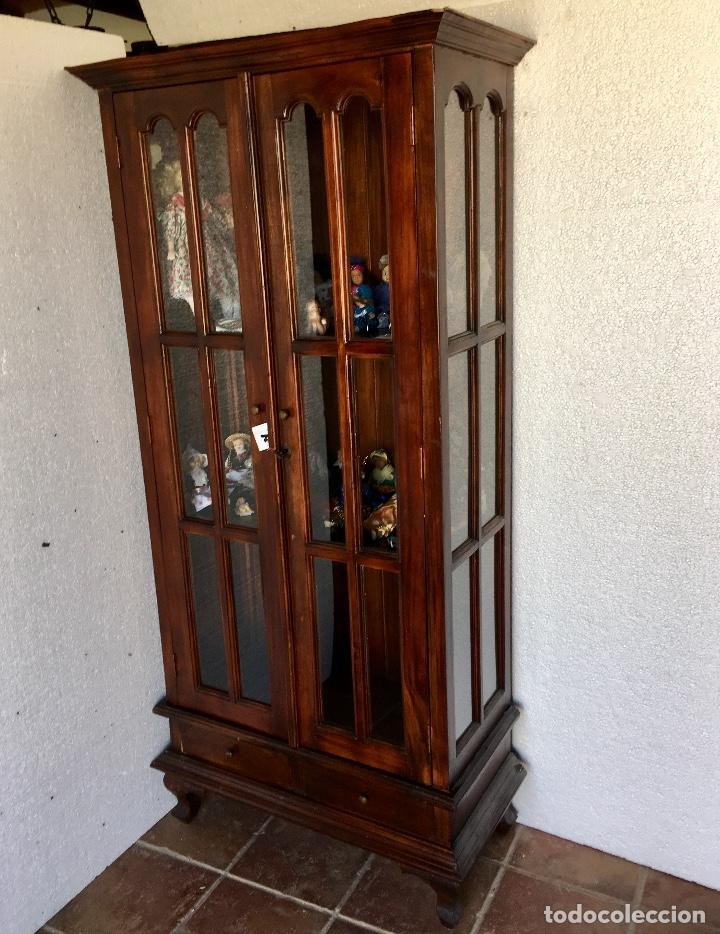 Antigüedades: ANTIGUA VITRINA - Foto 2 - 133334438