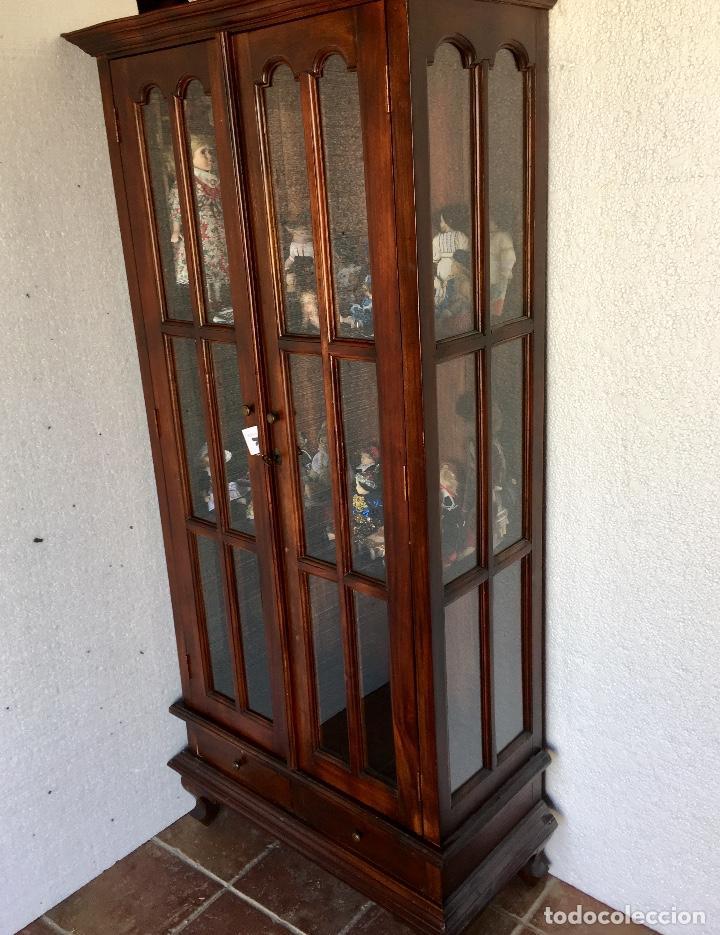 Antigüedades: ANTIGUA VITRINA - Foto 3 - 133334438