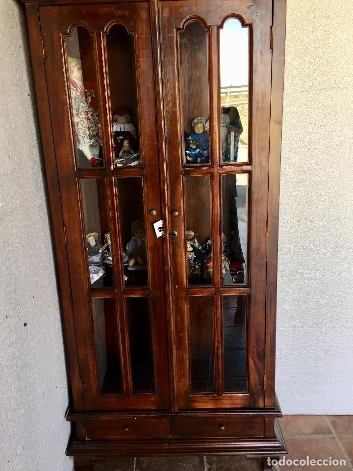 Antigüedades: ANTIGUA VITRINA - Foto 4 - 133334438