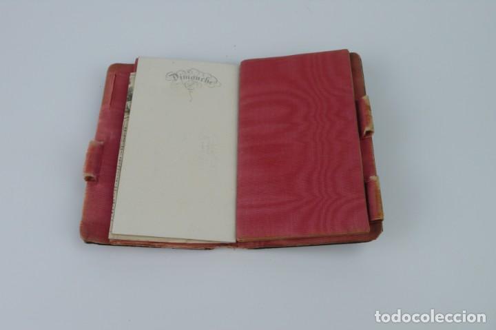 Antigüedades: Exquisito carnet de baile de carey natural y oro - Francia Siglo XIX, 1.850-Napoleón III - Foto 11 - 133342554
