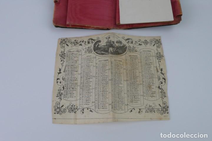 Antigüedades: Exquisito carnet de baile de carey natural y oro - Francia Siglo XIX, 1.850-Napoleón III - Foto 12 - 133342554