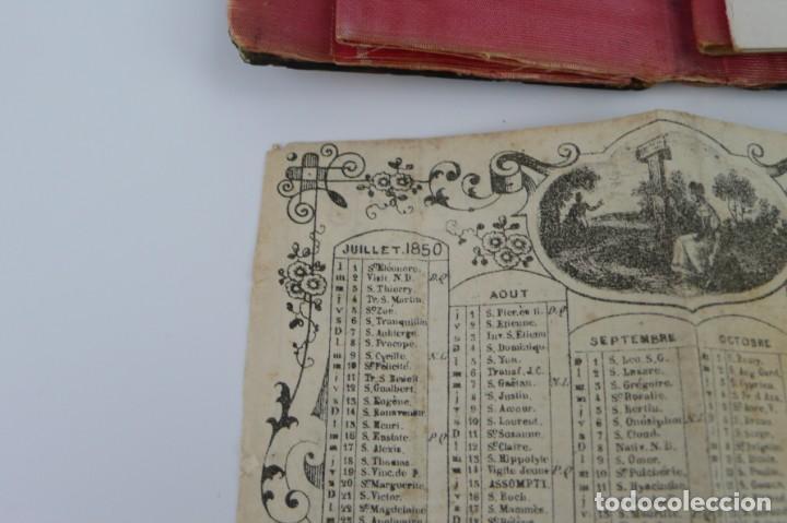 Antigüedades: Exquisito carnet de baile de carey natural y oro - Francia Siglo XIX, 1.850-Napoleón III - Foto 13 - 133342554