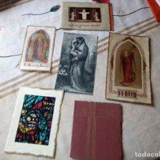 Antigüedades: LOTE DE 6 ESTAMPITAS ANTIGUAS ALGUNAS SOLAPADAS.. Lote 133345806