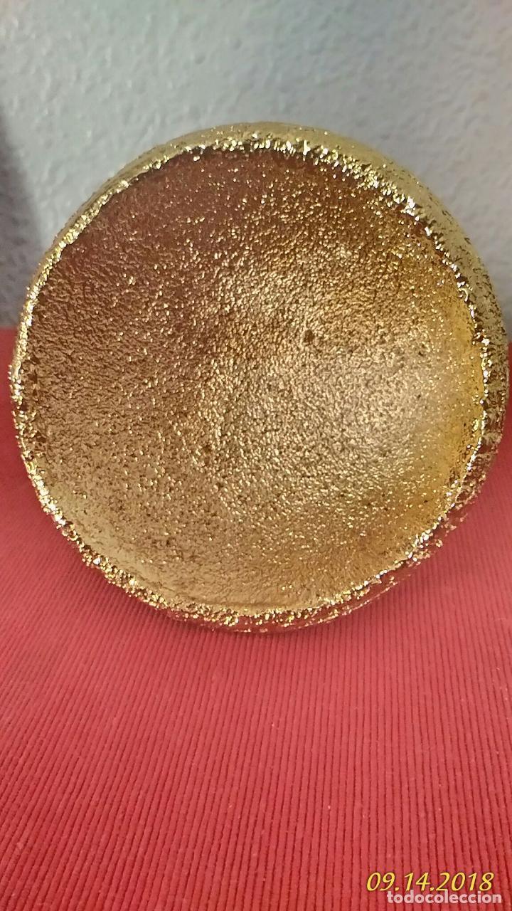 Antigüedades: Porta velas dorado - Foto 5 - 133362626