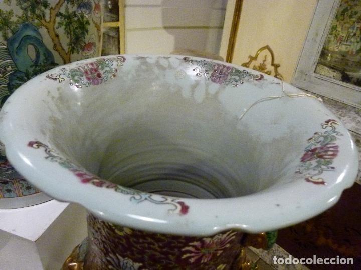 Antigüedades: PAREJA DE JARRONES CHINOS SIGLO XIX - Foto 4 - 133365858