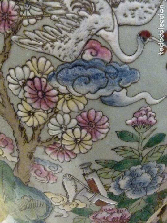 Antigüedades: PAREJA DE JARRONES CHINOS SIGLO XIX - Foto 11 - 133365858