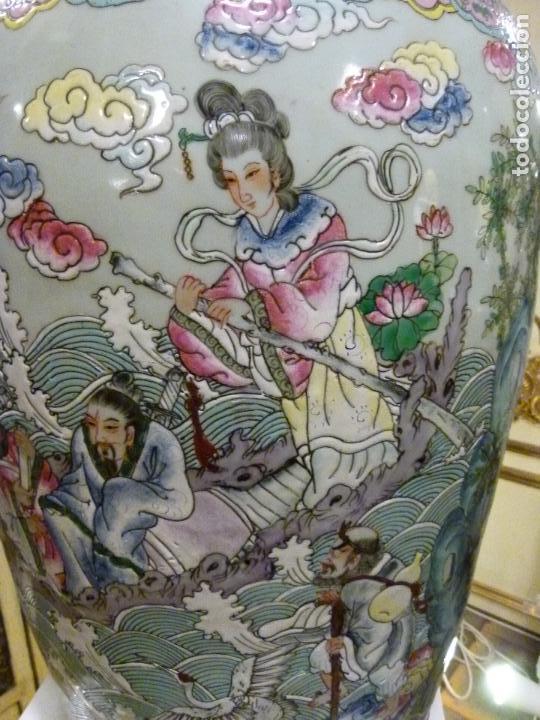 Antigüedades: PAREJA DE JARRONES CHINOS SIGLO XIX - Foto 13 - 133365858