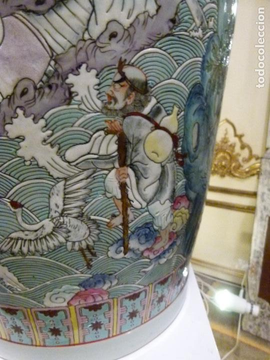 Antigüedades: PAREJA DE JARRONES CHINOS SIGLO XIX - Foto 15 - 133365858
