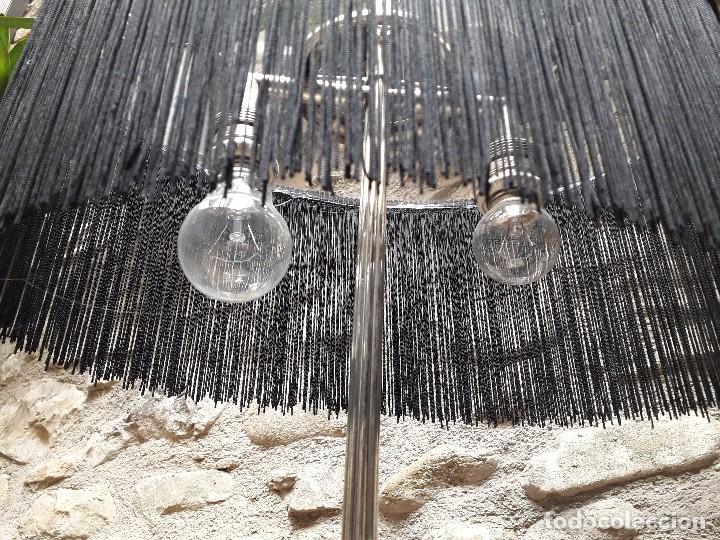 Antigüedades: Lámpara de sobremesa en plata vieja - Foto 8 - 133378774