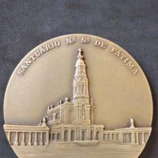 Antigüedades: MEDALLA SANTUARIO DE FATIMA. CONMEMORATIVA DEL 70 ANIVERSARIO DE LA VIRGEN DE FÁTIMA.1987-1988. Lote 133383618