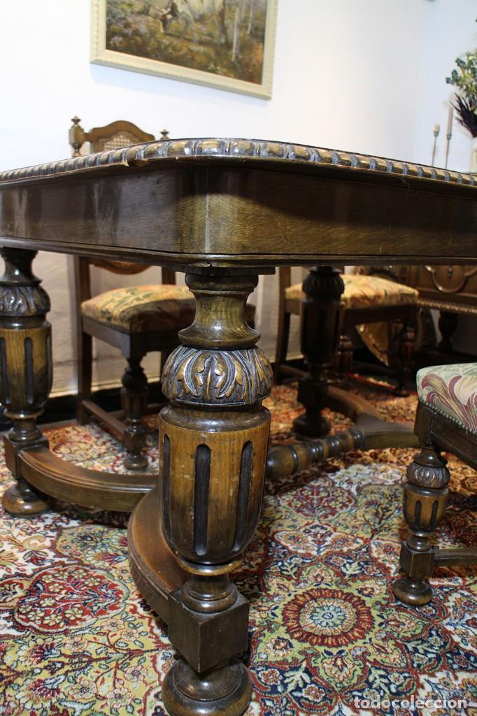 mesa de comedor antigua - años 20-30 - extensib - Kaufen Antike ...