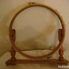 Antigüedades: COSTURERO EN MADERA ANTIGUO (#). Lote 133399746