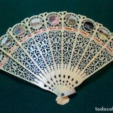 Antigüedades: ANTIGUO ABANICO PLASTICO SOUVENIR DE ITALIA. Lote 133407382