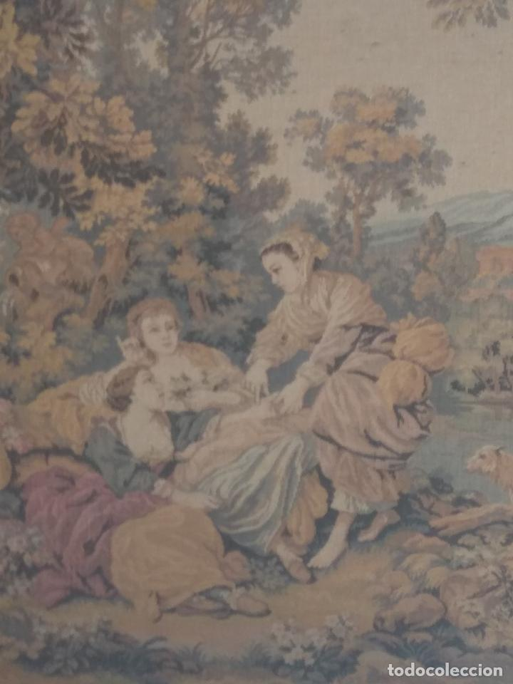 Antigüedades: Pareja de tapices - Foto 4 - 133420166