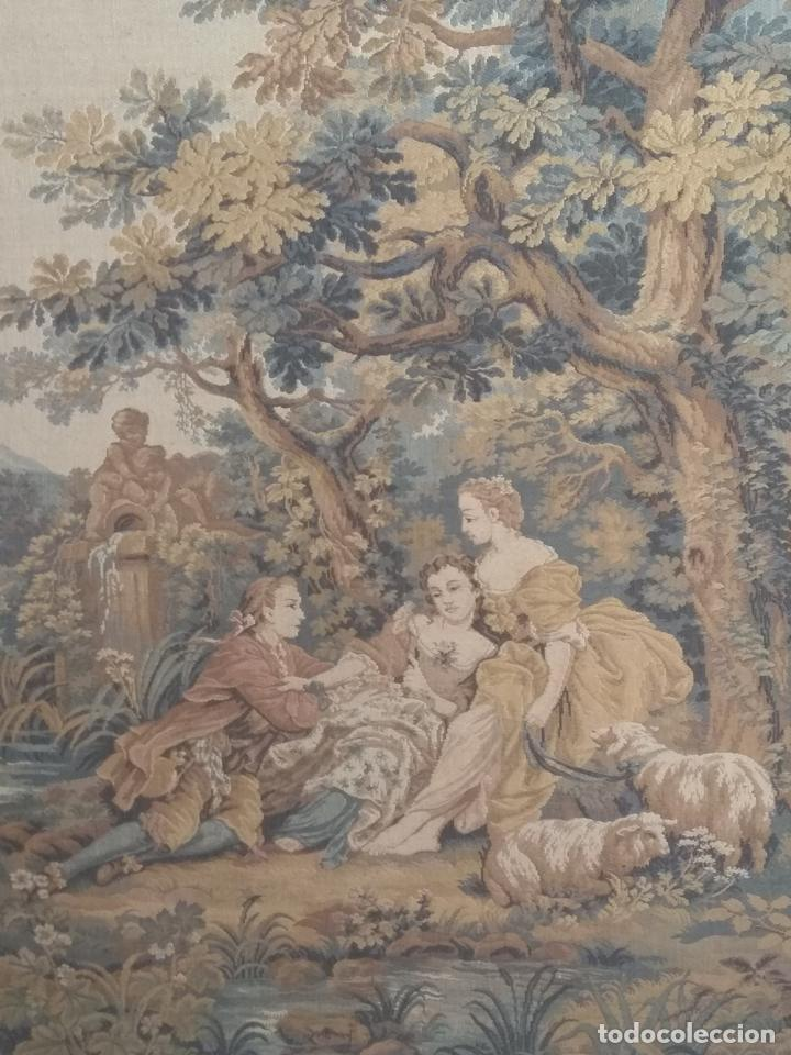 Antigüedades: Pareja de tapices - Foto 5 - 133420166
