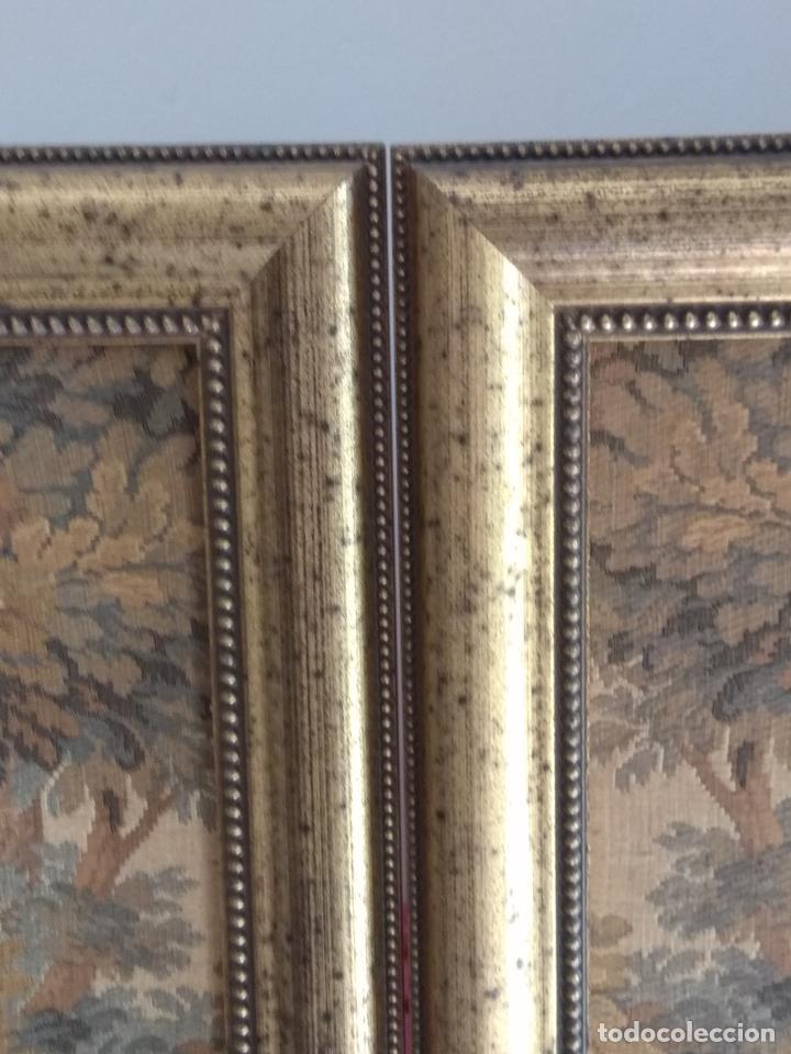 Antigüedades: Pareja de tapices - Foto 6 - 133420166