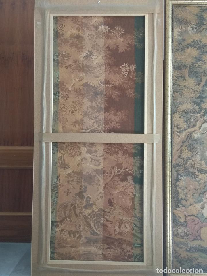 Antigüedades: Pareja de tapices - Foto 7 - 133420166