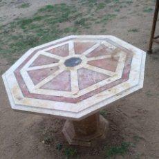 Antigüedades: MESA MÁRMOL TARACEA. Lote 133432514