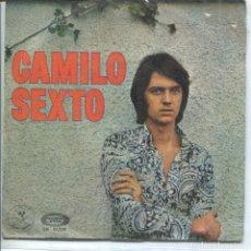 Discos de vinilo: CAMILO SEXTO / LLEGARA EL VERANO / SIN DIRECCION (TEMAS DE JUAN PARDO) SINGLE 1970. Lote 133436250