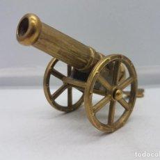 Antigüedades: PRECIOSA REPRODUCCIÓN ANTIGUA A ESCALA DE BRONCE DE CAÑON DE CAMPAÑA IMPERIAL.. Lote 133461762