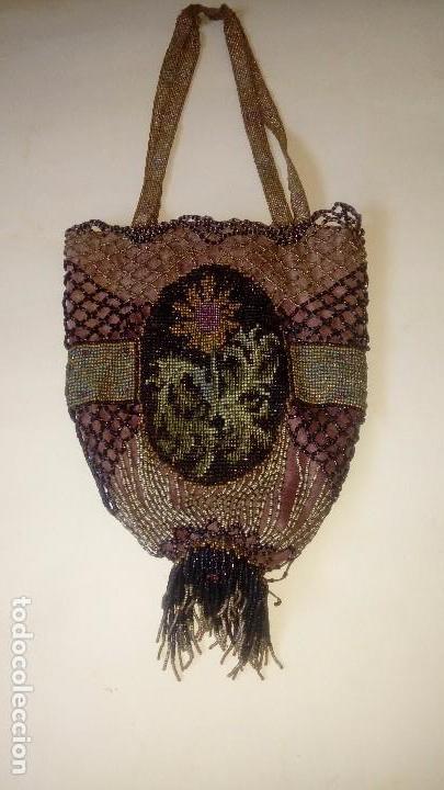 BOLSO MODERNISTA PP.SXX DE MOSTACILLA (Antigüedades - Moda - Bolsos Antiguos)