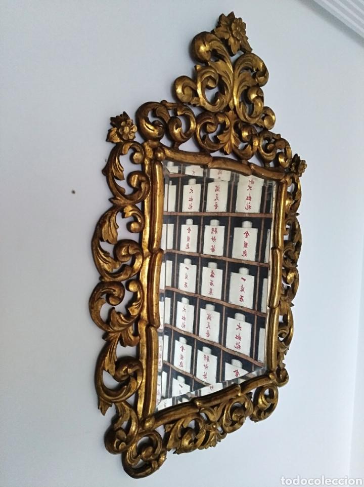 Antigüedades: Espejo con pan de oro - Foto 5 - 133475629