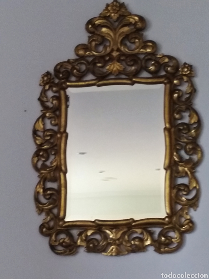 Antigüedades: Espejo con pan de oro - Foto 6 - 133475629