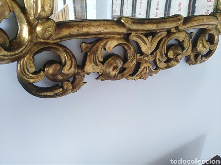 Antigüedades: Espejo con pan de oro - Foto 7 - 133475629