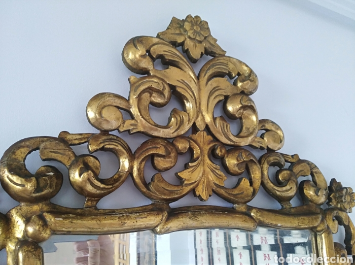 Antigüedades: Espejo con pan de oro - Foto 8 - 133475629