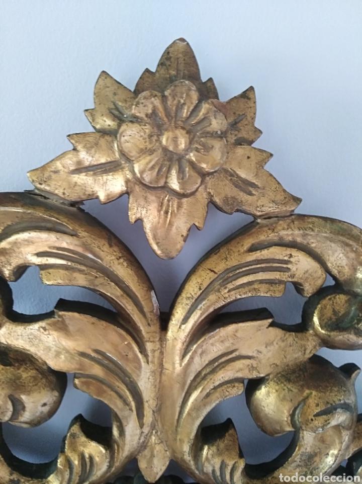 Antigüedades: Espejo con pan de oro - Foto 9 - 133475629