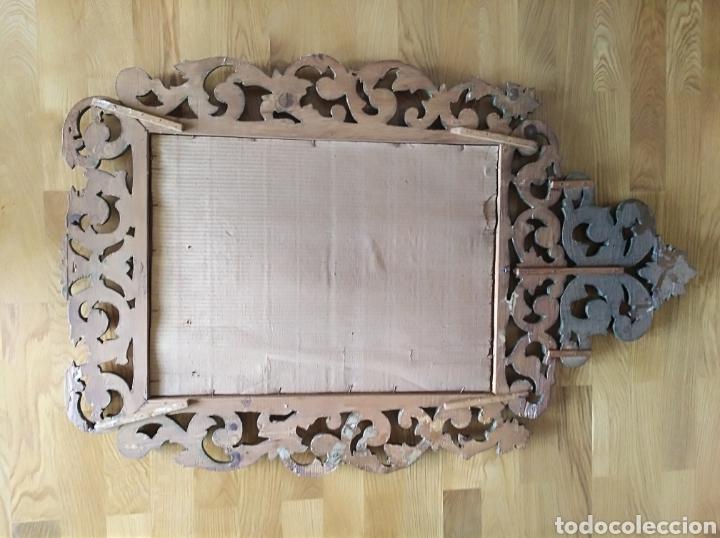 Antigüedades: Espejo con pan de oro - Foto 10 - 133475629