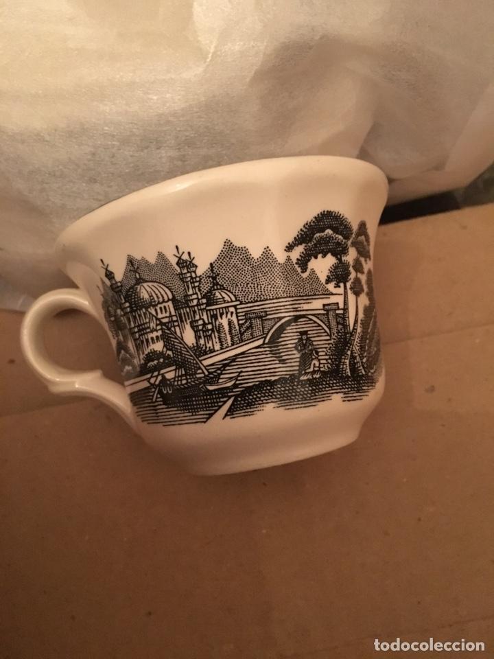 Antigüedades: La CARTUJA DE SEVILLA juego de café de 27 piezas incluye cafetera,azucarero y lechera - Foto 6 - 133476806