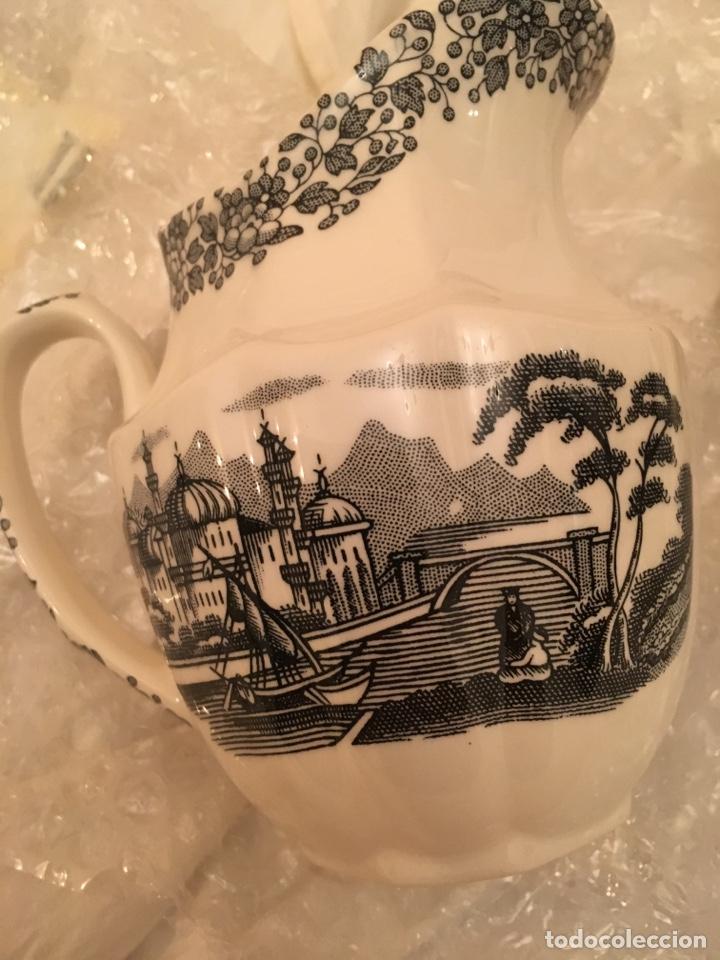 Antigüedades: La CARTUJA DE SEVILLA juego de café de 27 piezas incluye cafetera,azucarero y lechera - Foto 9 - 133476806