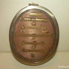 Antigüedades: ANTIGUO Y BONITO RELICARIO ....CON CINCO RELIQUIAS Y SU LACRA CORRESPONDIENTE.. Lote 133477810