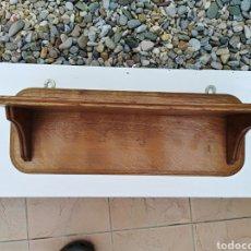 Antigüedades: ESTANTE DE ROBLE. Lote 133479041