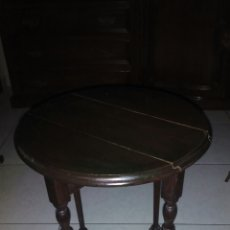 Antiquités: PEQUEÑA MESA DE ALAS ,AUXILIAR. Lote 133487251